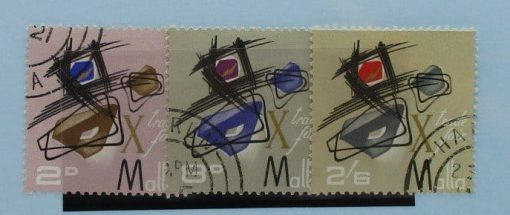 Malta Stamps, 1966, SG373-375, Used 3