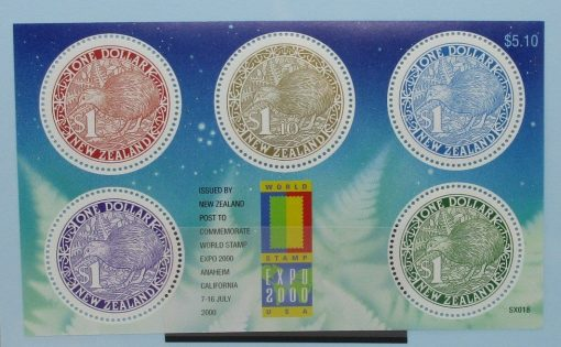 New Zealand Stamps, 2000, MS2342, Mint 3