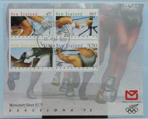 New Zealand Stamps, 1992, MS1674, Used 3