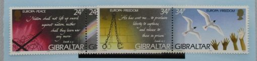 Gibraltar Stamps, 1995, SG740a, SG742a, Mint 3