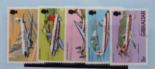 Gibraltar Stamps, 1982, SG460-464, Mint 3