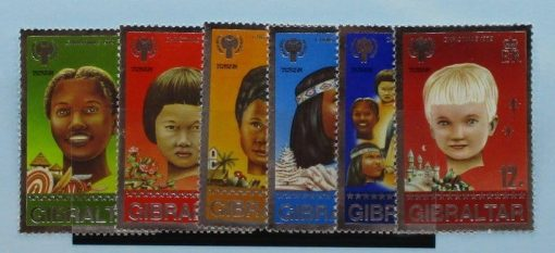 Gibraltar Stamps, 1979, SG423-428, Mint 3