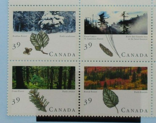 Canada Stamps, 1990, SG1394a, Mint 3