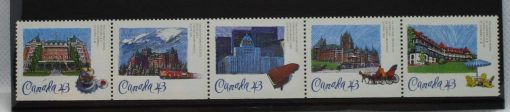 Canada Stamps, 1993, SG1540-1544, Mint 3