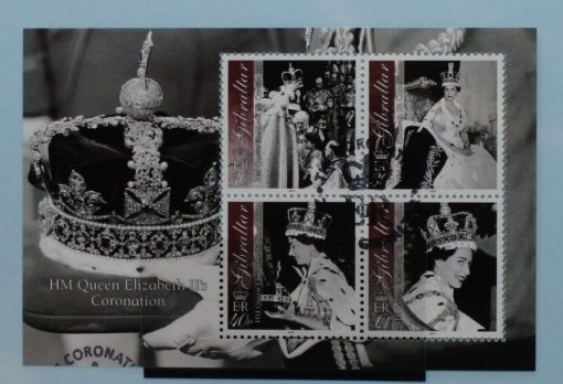 Gibraltar Stamps, 2003, MS1035, Used 3