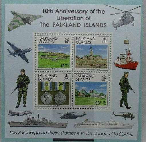 Falkland Islands Stamps, 1992, MS660, Mint 3