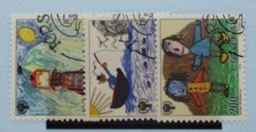 Faroe Islands Stamps, 1979, SG44-46, Used 3
