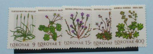 Faroe Islands Stamps, 1980, SG47-51, Mint 3