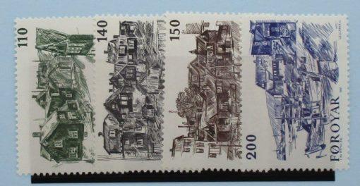 Faroe Islands Stamps, 1981, SG58-61, Mint 3