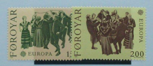 Faroe Islands Stamps, 1981, SG62-63, Mint 3