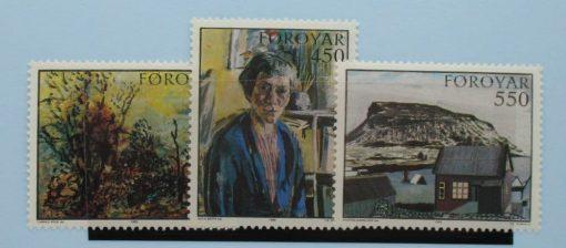 Faroe Islands Stamps, 1985, SG115-117, Mint 3