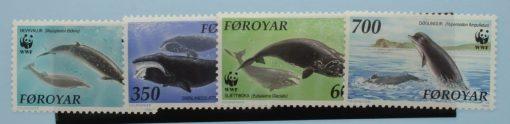 Faroe Islands Stamps, 1990, SG196-199, Mint 3