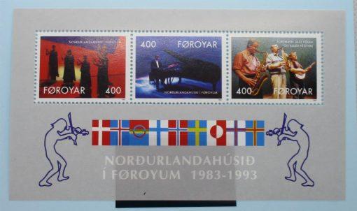 Faroe Islands Stamps, 1993, MS238, Mint 3