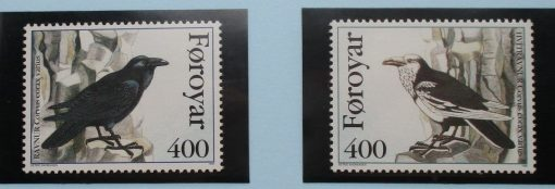 Faroe Islands Stamps, 1995, SG277-278, Mint 3