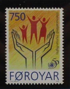 Faroe Islands Stamps, 1998, SG348, Mint 3