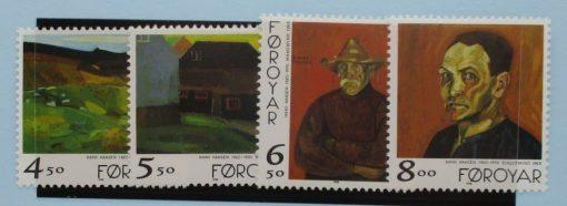 Faroe Islands, 1998, SG351-354, Mint 3