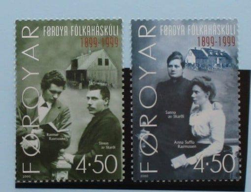 Faroe Islands Stamps, 2000, SG387-388, Mint 3