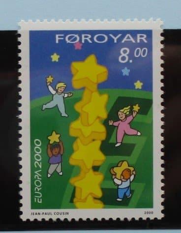 Faroe Islands Stamps, 2000, SG393, Mint 3