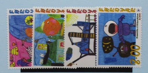Faroe Islands, 2000, SG394-397, Mint 3