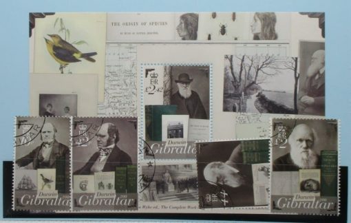Gibraltar Stamps, 2009, SG1341a-1341d, MS1341e, Used 3