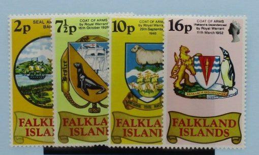 Falkland Islands Stamps, 1975, SG311-314, Mint 3