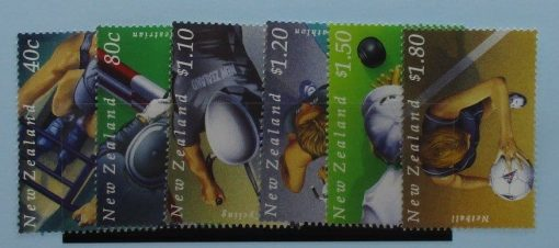 New Zealand Stamps, 2000, SG2347-2352, Mint 3