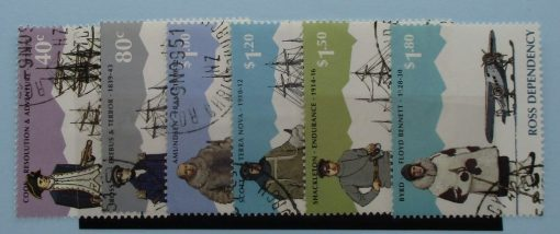 Ross Dependency Stamps, 1995, SG32-37, Used 2