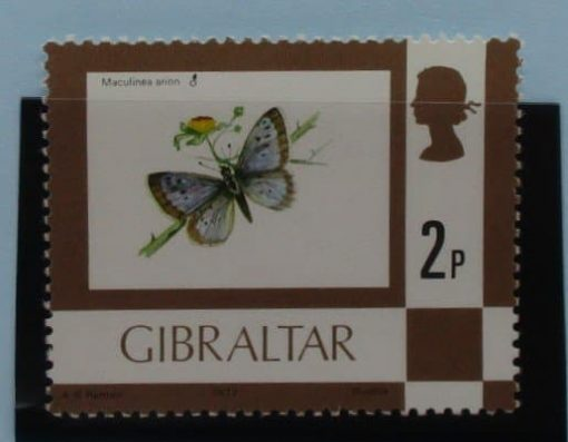 Gibraltar Stamps, 1977-82, SG376, Mint 3