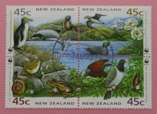 New Zealand Stamps, 1993, SG1736a, Used 3