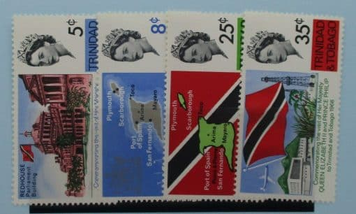 Trinidad and Tobago Stamps, 1966, SG313-316, Mint 2
