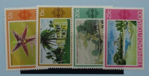 Trinidad and Tobago Stamps, 1976, SG483-486, Mint 3