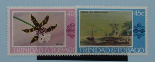 Trinidad and Tobago Stamps, 1976, SG489-490, Mint 3