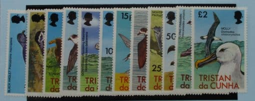 Tristan da Cunha Stamps, 1977, SG220-231, Mint 3