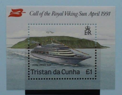 Tristan da Cunha Stamps, 1991, MS513, Mint 3