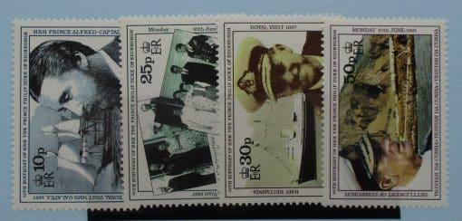 Tristan da Cunha Stamps, 1991, SG514-517, Mint 3
