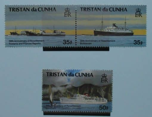 Tristan da Cunha Stamps, 1993, SG546-548, Mint 3