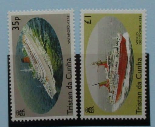 Tristan da Cunha Stamps, 1994, SG561-562, Mint 3