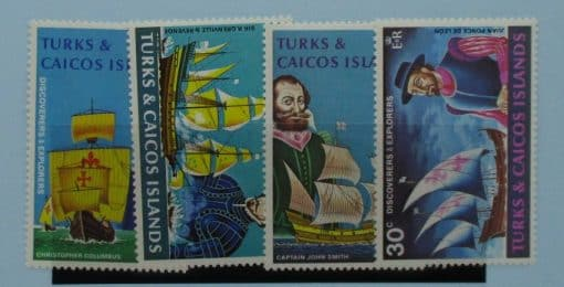 Turks and Caicos Islands Stamps, 1972, SG368-371, Mint 2