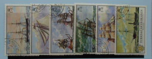 Turks and Caicos Islands Stamps, 1973, SG396-401, Used 2