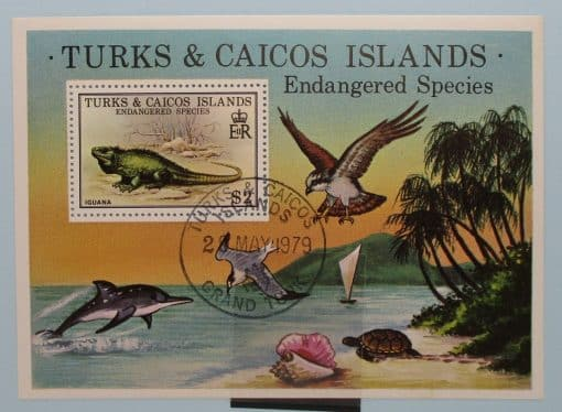 Turks and Caicos Islands Stamps, 1979, MS539, Used 2