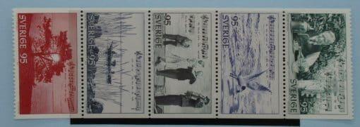 Sweden Stamps, 1977, SG927-931, Mint 3