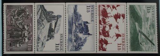 Sweden Stamps, 1978, SG965-969, Mint 3