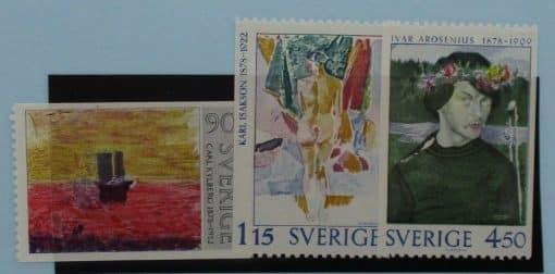 Sweden Stamps, 1978, SG971-973, Mint 3