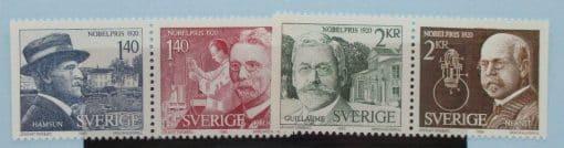 Sweden Stamps, 1980, SG1056-1059, Mint 3