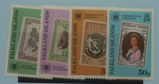 Falkland Islands Stamps, 1983, SG450-453, Mint 3