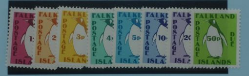 Falkland Islands Stamps, 1991, SGD1-D8, Mint 3