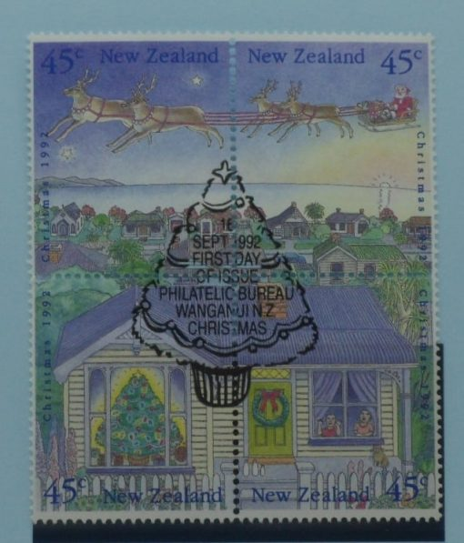 New Zealand Stamps, 1992, SG1700a, Used 3