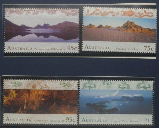Australia Stamps, 1996, SG1582-1585, Mint 3