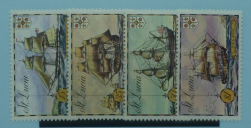 St Lucia Stamps, 1973, SG352-355, Mint 2