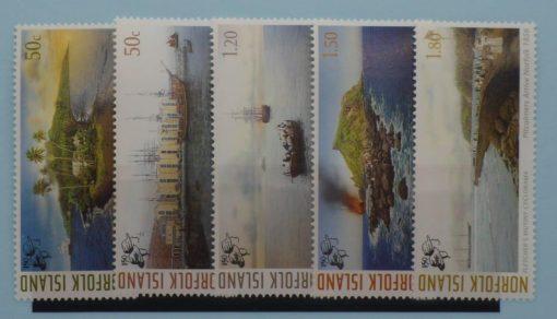 Norfolk Island Stamps, 2006, SG951-955, Mint 3